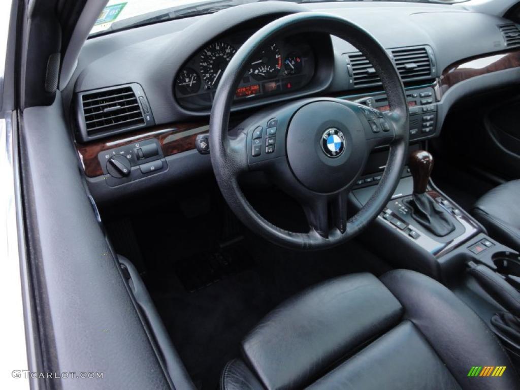 Black Interior 2003 Bmw 3 Series 325xi Wagon Photo