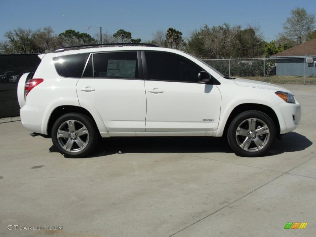 super white 2011 toyota rav4 v6 exterior photo 46475865. Black Bedroom Furniture Sets. Home Design Ideas