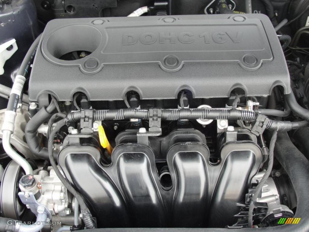 2009 Kia Optima Lx 2 4 Liter Dohc 16