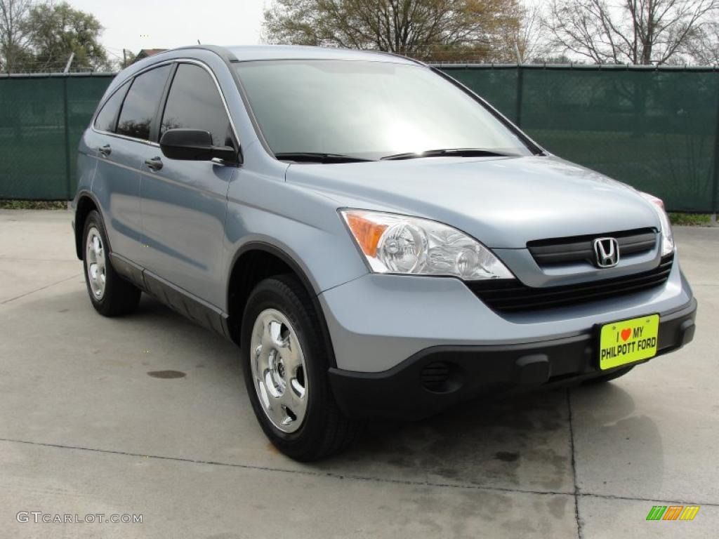 2009 CR-V LX - Glacier Blue Metallic / Gray photo #1