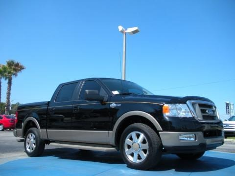 2005 ford f150 king ranch supercrew data info and specs. Black Bedroom Furniture Sets. Home Design Ideas