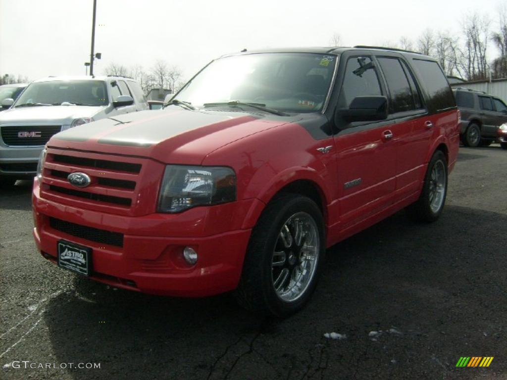 Colorado Red/Black 2008 Ford Expedition Funkmaster Flex Limited 4x4 ...