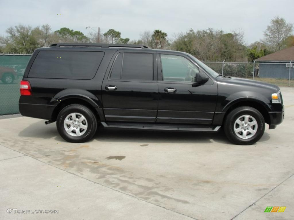 tuxedo black 2010 ford expedition el xlt exterior photo 46478577. Black Bedroom Furniture Sets. Home Design Ideas