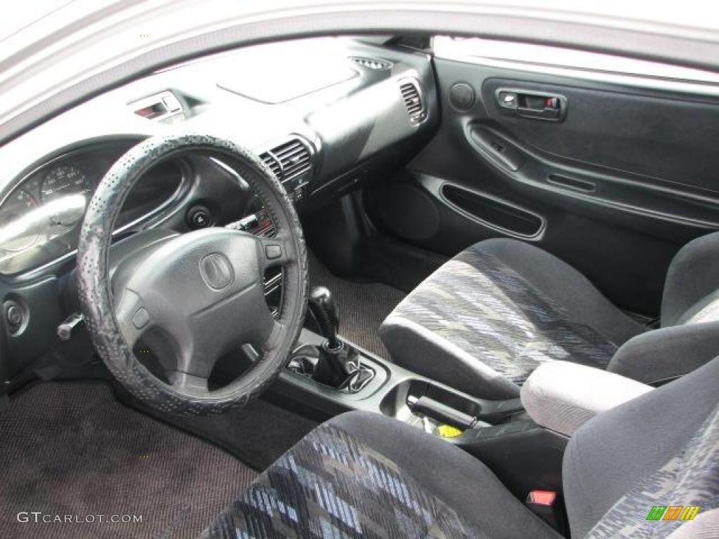 Ebony Interior 2000 Acura Integra LS Coupe Photo #46482129   GTCarLot.com