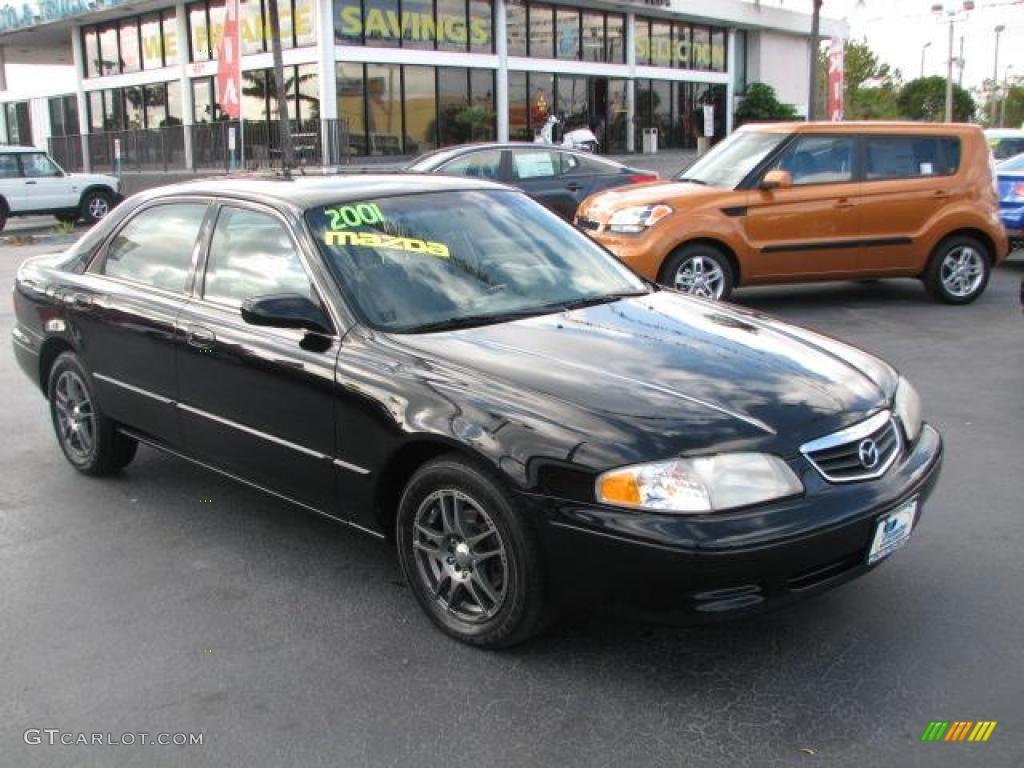 2001 black onyx mazda 626 lx 46456207 gtcarlot com car color galleries gtcarlot com