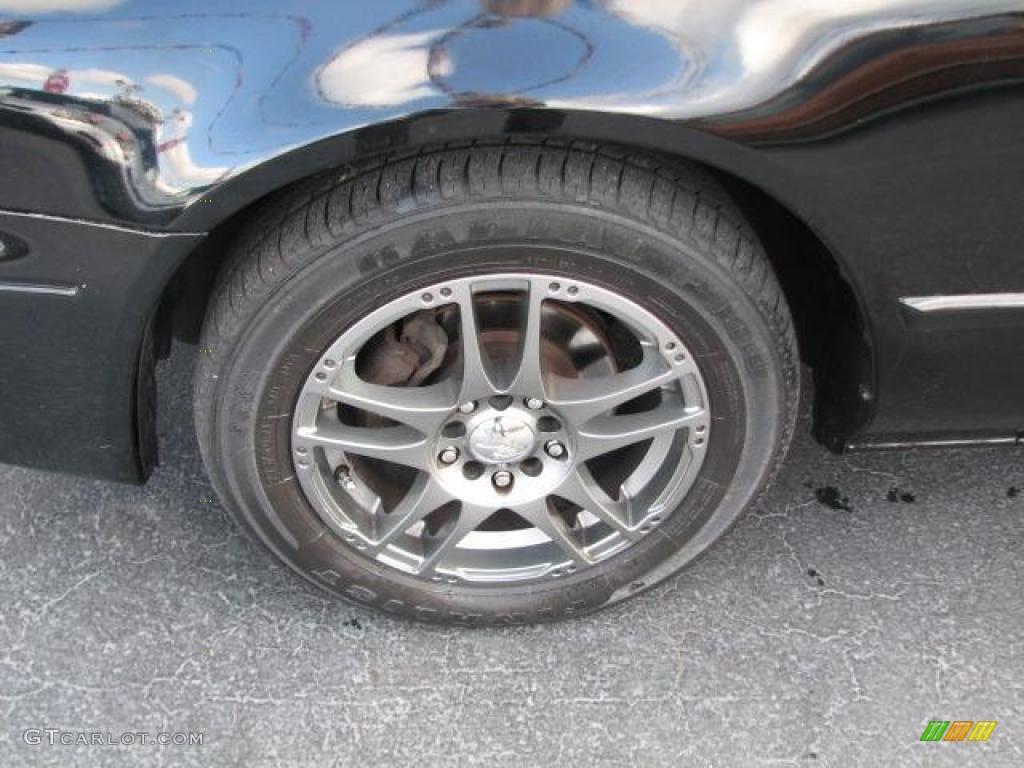 2001 Mazda 626 LX Custom Wheels Photo #46482468