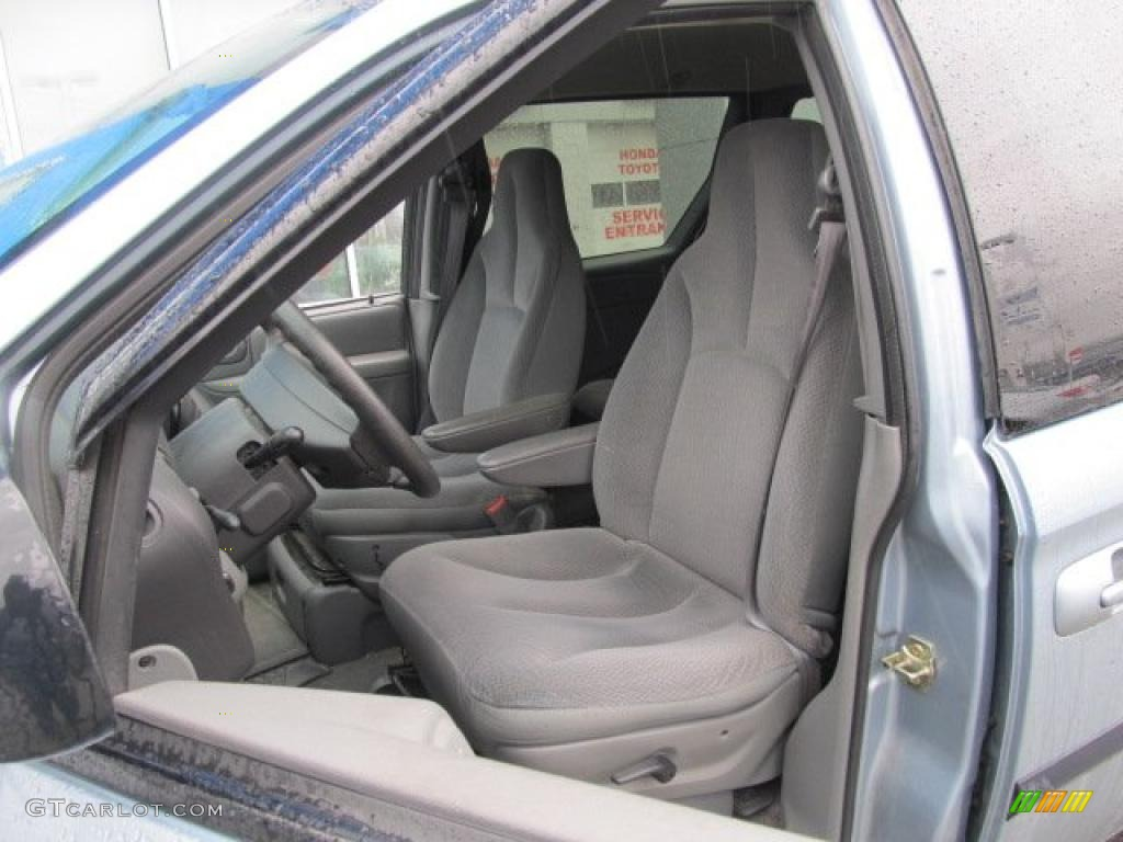 Medium slate gray interior 2004 dodge caravan sxt photo 46486554