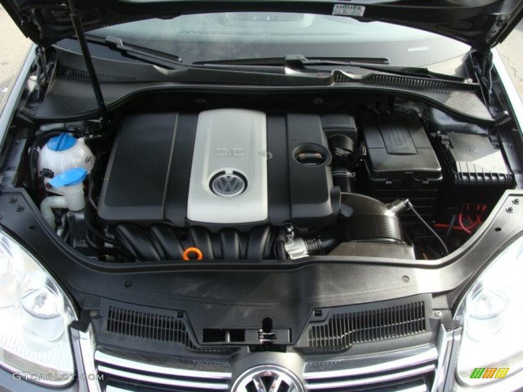 2007 Volkswagen Jetta 2 5 Sedan Liter Dohc 20 Valve Cylinder Engine Photo 46488834