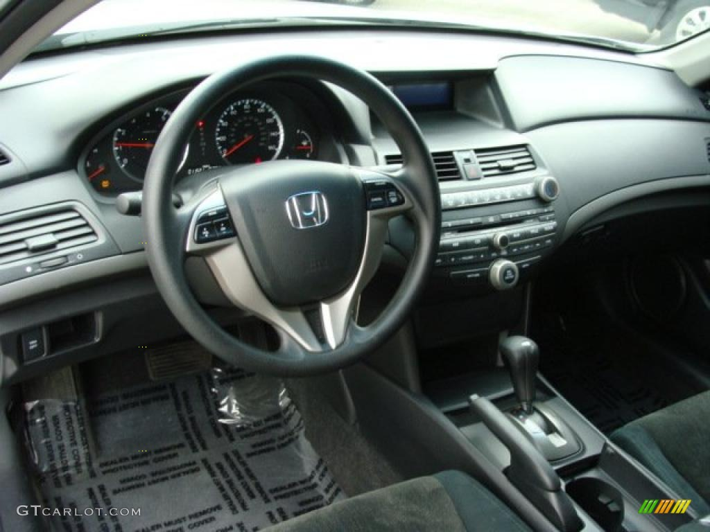 Black Interior 2010 Honda Accord Lx S Coupe Photo