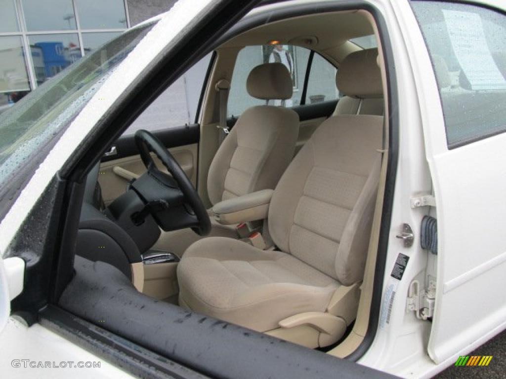 Beige Interior 2000 Volkswagen Jetta Gls Sedan Photo 46492776