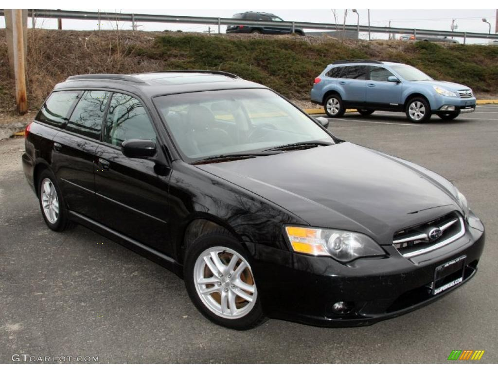obsidian black pearl 2005 subaru legacy limited wagon. Black Bedroom Furniture Sets. Home Design Ideas