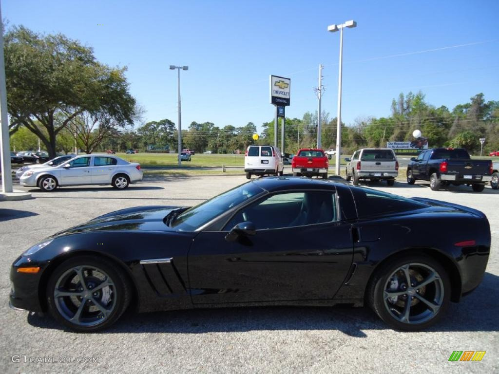 black 2010 chevrolet corvette grand sport coupe exterior photo. Cars Review. Best American Auto & Cars Review
