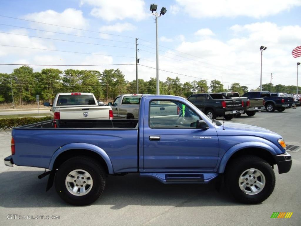 Horizon Blue Metallic 1999 Toyota Tacoma Prerunner Regular
