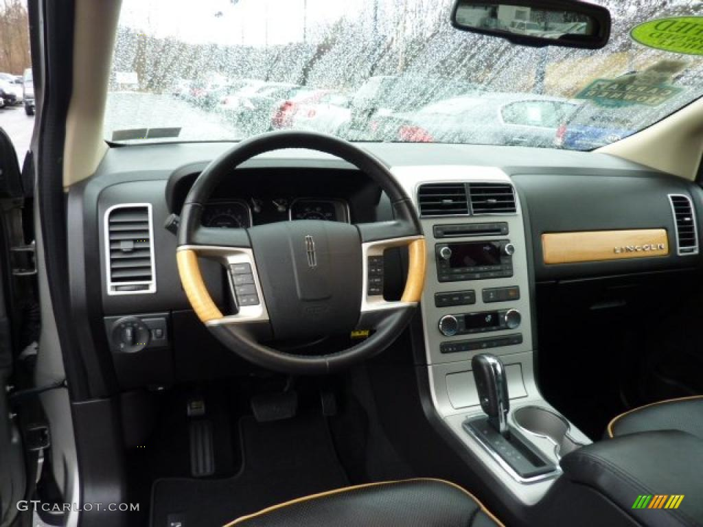 2008 lincoln mkx awd charcoal black dashboard photo. Black Bedroom Furniture Sets. Home Design Ideas