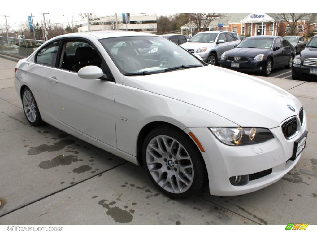 alpine white 2009 bmw 3 series 328i coupe exterior photo 46522110. Black Bedroom Furniture Sets. Home Design Ideas