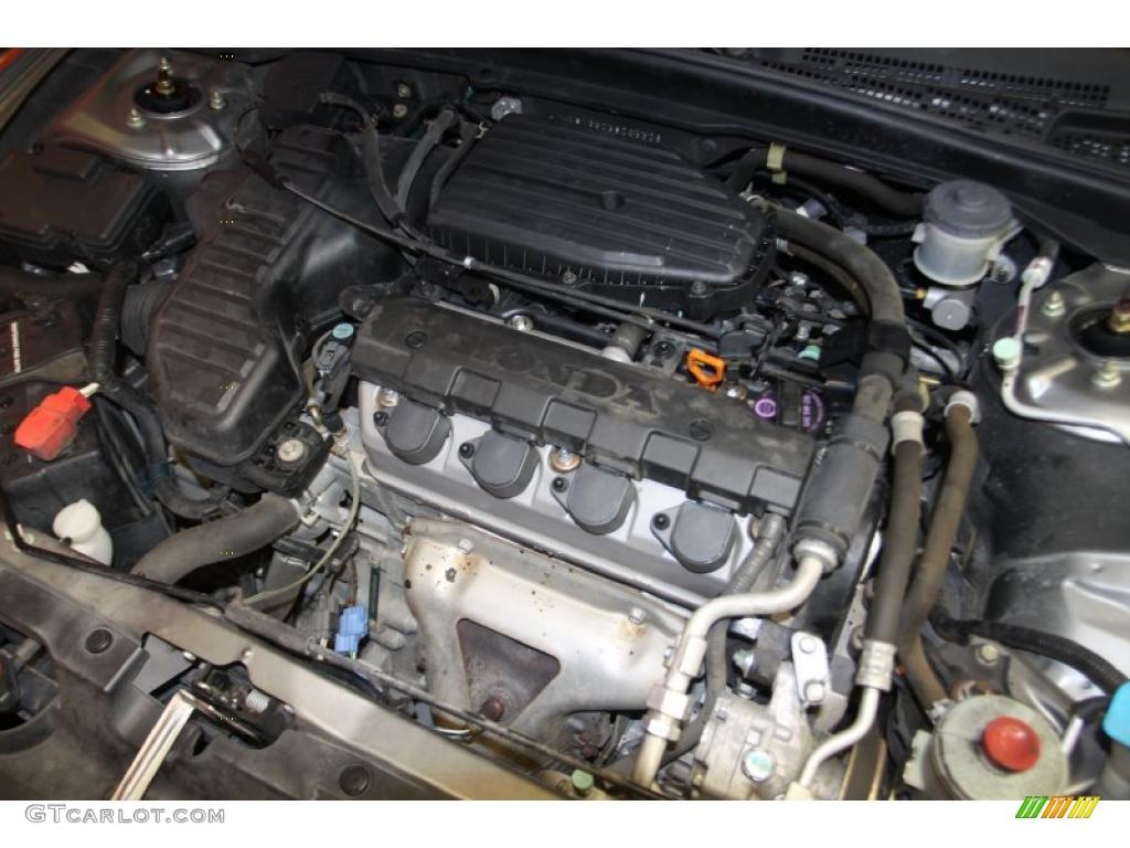2005 Honda Civic Lx Sedan 1 7l Sohc 16v Vtec 4 Cylinder Engine Photo 46522503 Gtcarlot Com