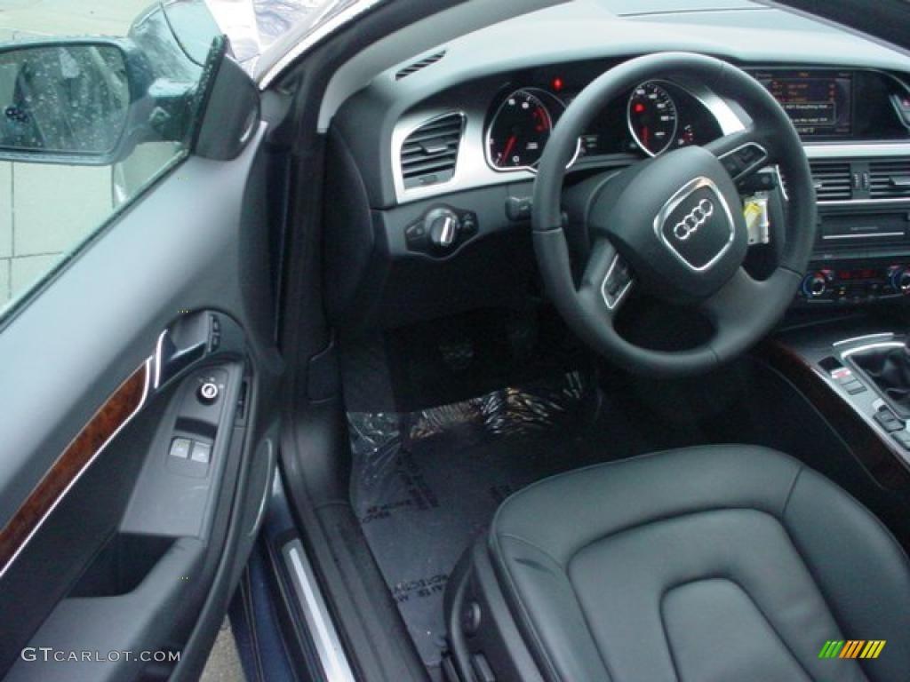 Black Interior 2011 Audi A5 2 0t Quattro Coupe Photo 46525620