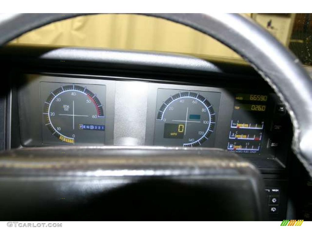 1990 Cadillac Allante Convertible Gauges Photo 46533189