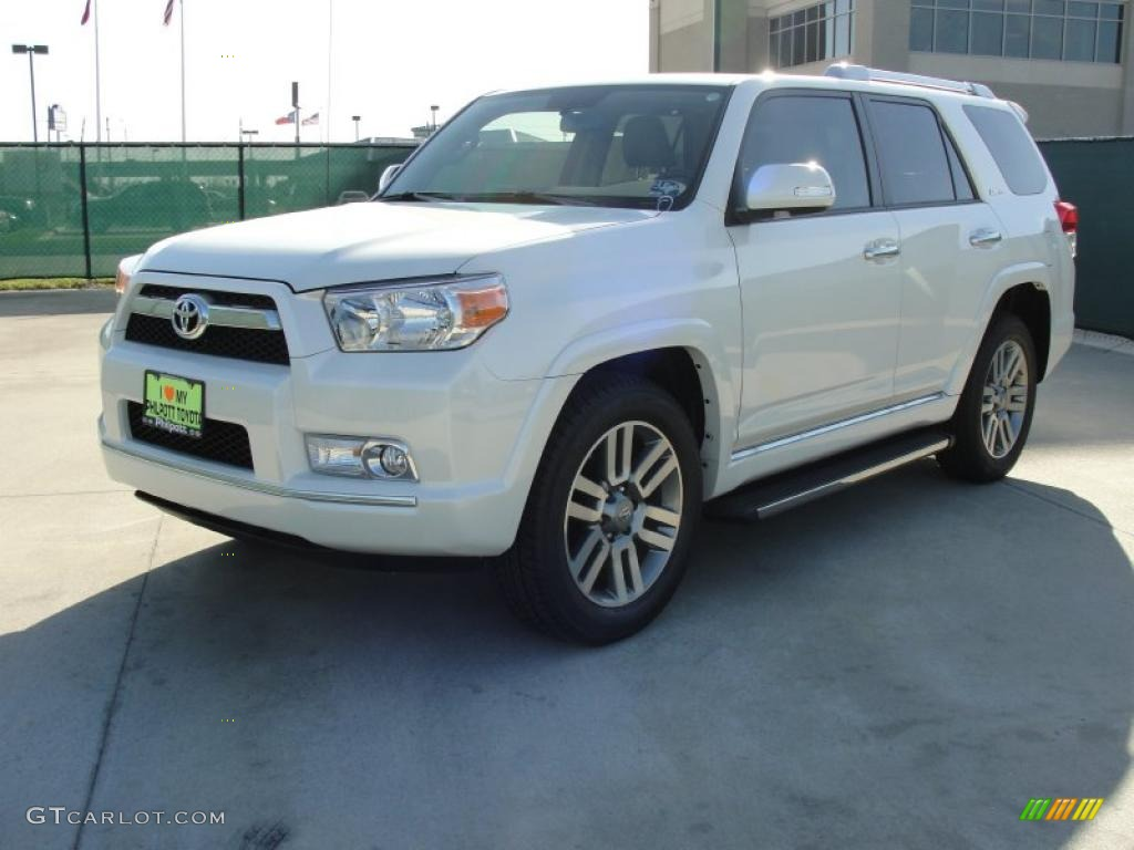 blizzard white pearl 2011 toyota 4runner limited exterior. Black Bedroom Furniture Sets. Home Design Ideas