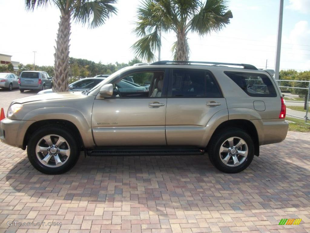 Driftwood Pearl 2007 Toyota 4runner Limited 4x4 Exterior