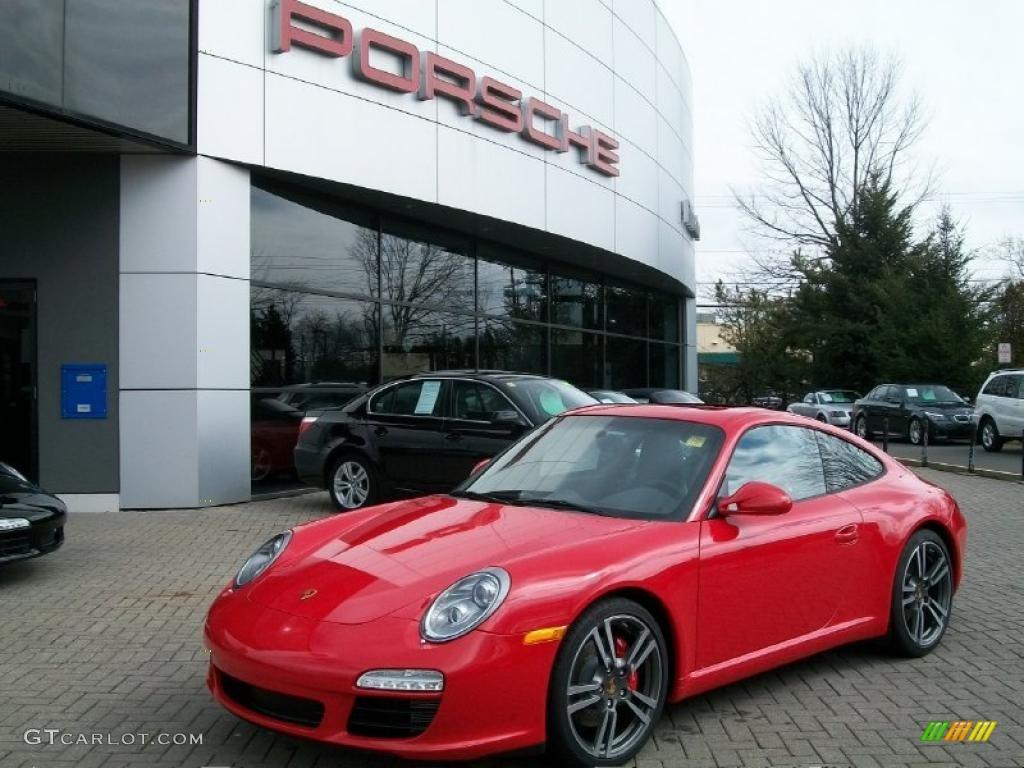 2011 guards red porsche 911 carrera s coupe 46546169 car color galleries. Black Bedroom Furniture Sets. Home Design Ideas