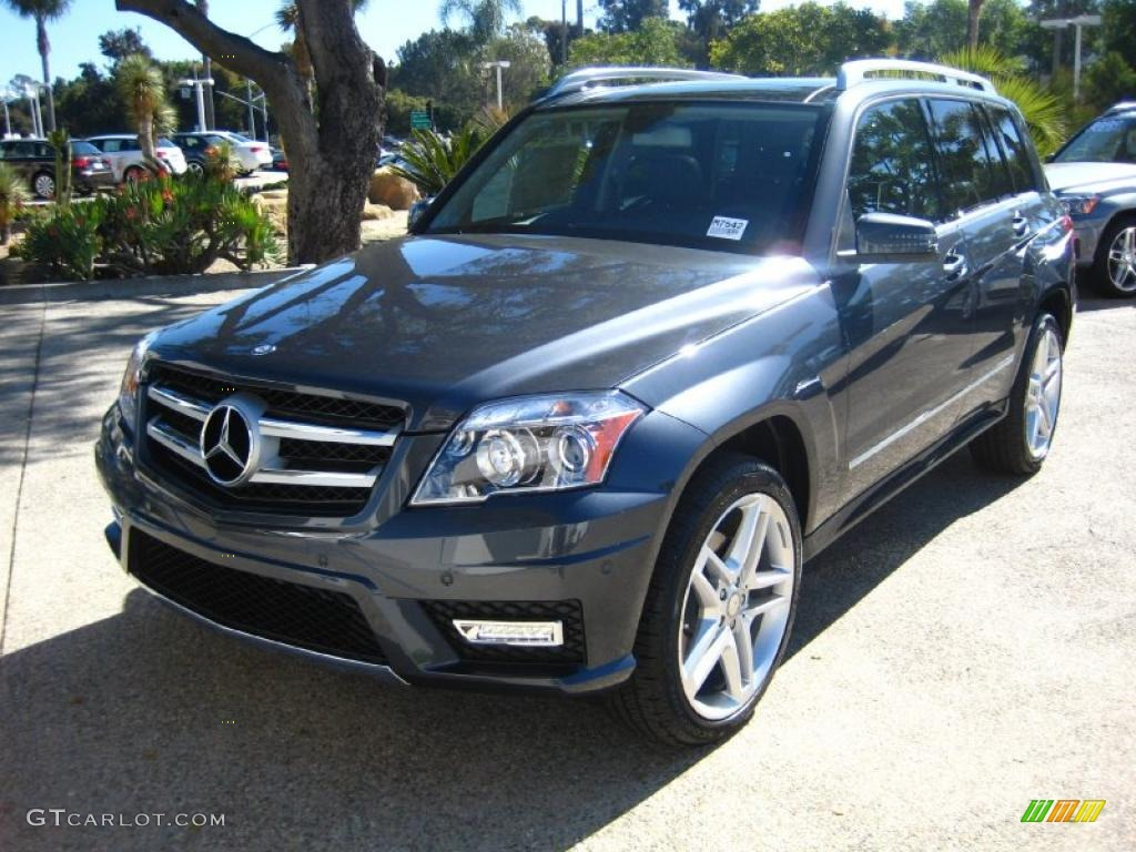 Steel grey metallic 2011 mercedes benz glk 350 4matic for Mercedes benz glk350 2011