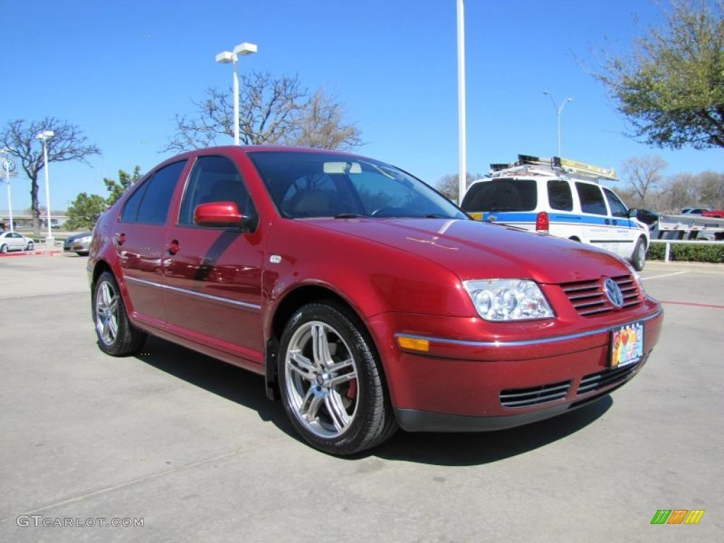 2004 spice red metallic volkswagen jetta gls tdi sedan. Black Bedroom Furniture Sets. Home Design Ideas