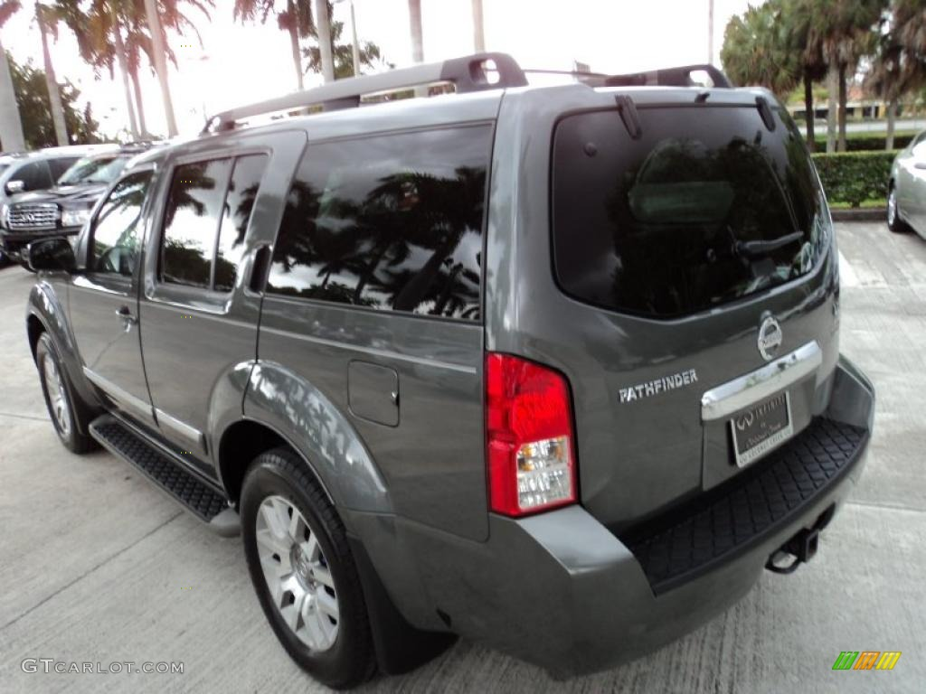 2009 storm gray nissan pathfinder le 46545322 photo 10 - 2013 nissan pathfinder interior colors ...