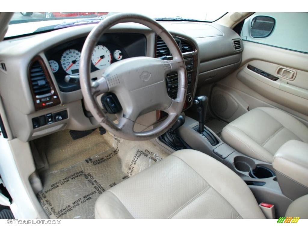 beige interior 2001 nissan pathfinder le 4x4 photo 46557215