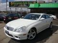 Diamond White Metallic 2008 Mercedes-Benz CLS 550 Diamond White Edition