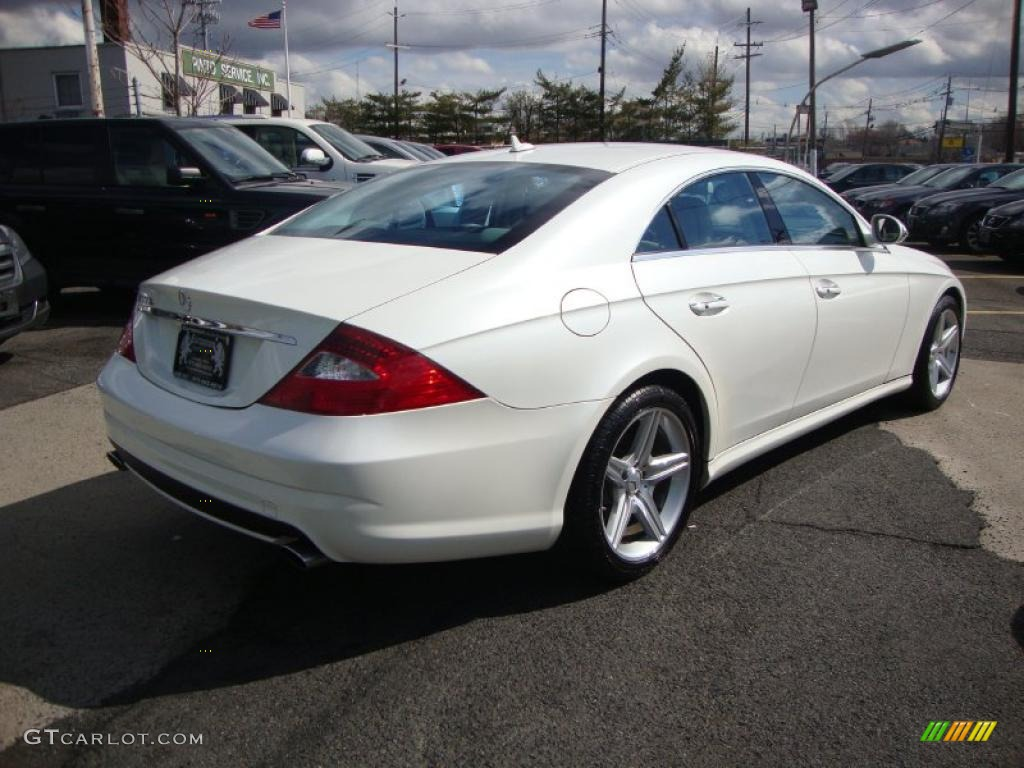 diamond white metallic 2008 mercedes benz cls 550 diamond white edition exterior photo 46564741. Black Bedroom Furniture Sets. Home Design Ideas