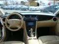 Cashmere Beige 2008 Mercedes-Benz CLS 550 Diamond White Edition Dashboard