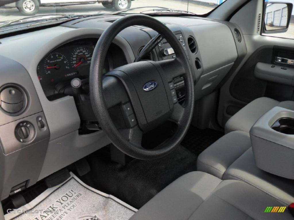 Medium Dark Flint Interior 2008 Ford F150 Stx Regular Cab Photo 46567141 Gtcarlot Com
