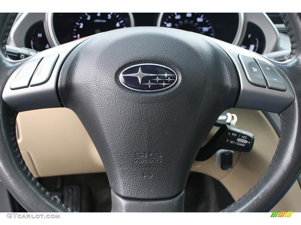2006 Subaru B9 Tribeca Limited 7 Passenger Beige Steering