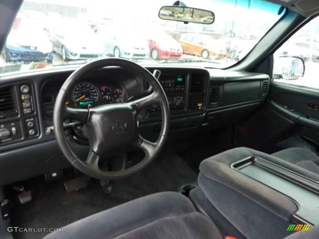 2001 Chevrolet Silverado 1500 Ls Extended Cab 4x4 Graphite