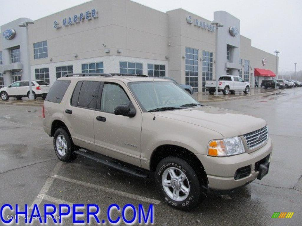 Pueblo Gold Metallic Ford Explorer
