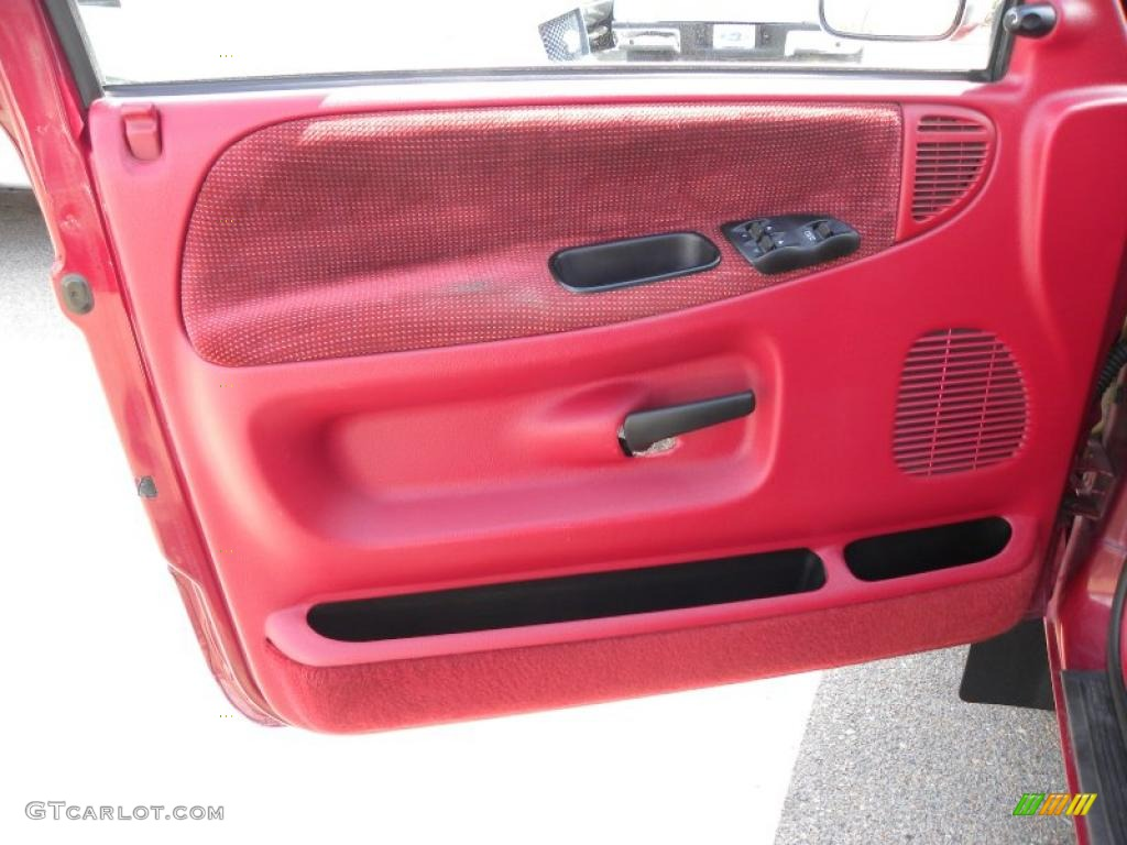 1995 dodge ram 3500 lt regular cab dually red door panel photo 46592561. Black Bedroom Furniture Sets. Home Design Ideas