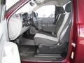 2009 Deep Ruby Red Metallic Chevrolet Silverado 1500 Regular Cab  photo #9