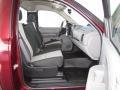 2009 Deep Ruby Red Metallic Chevrolet Silverado 1500 Regular Cab  photo #10