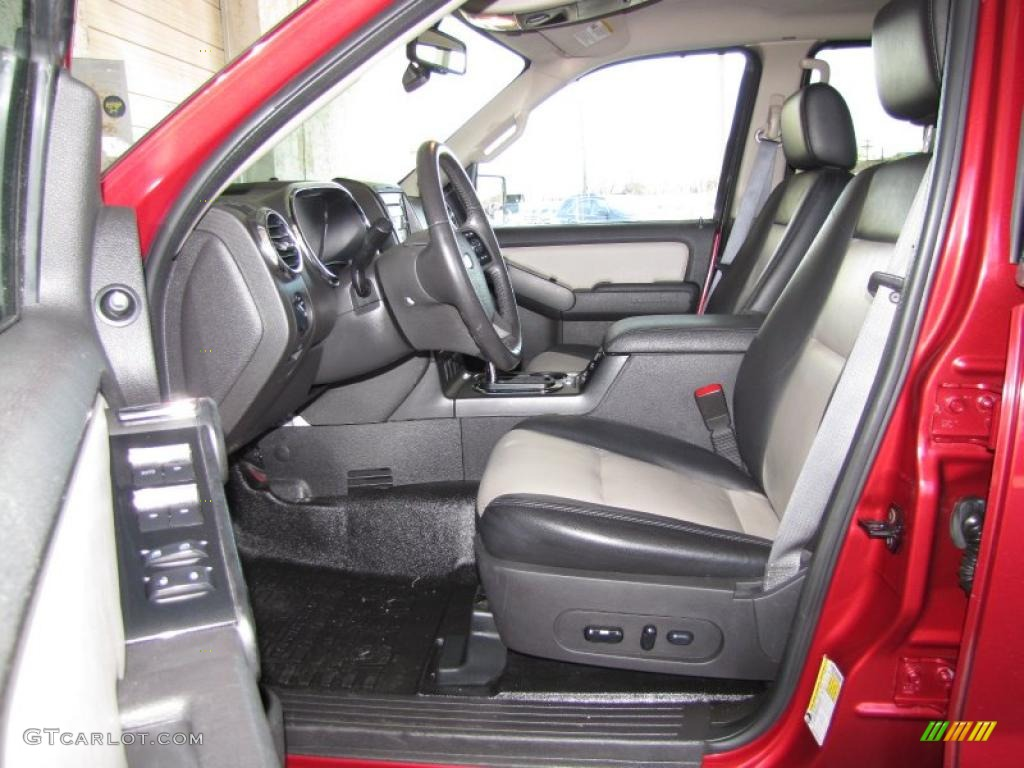 Dark Charcoal Interior 2008 Ford Explorer Sport Trac Limited Photo 46595462