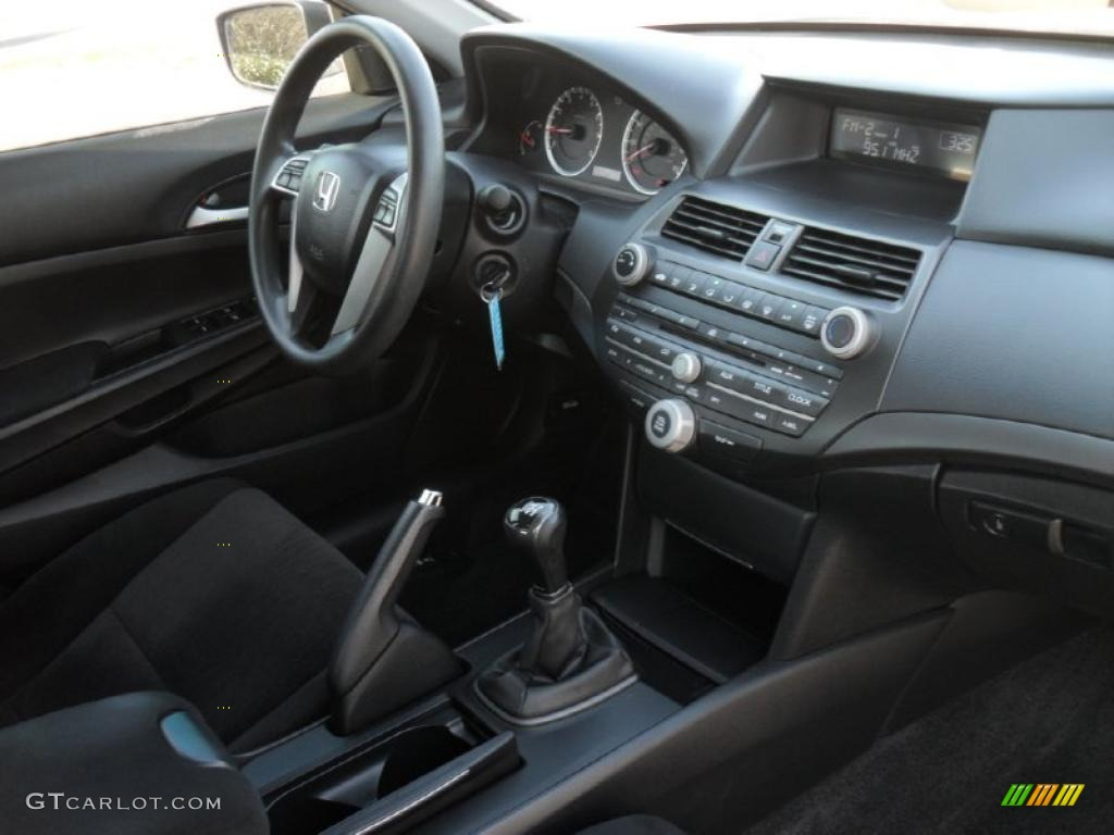 2008 Honda Accord Lx P Sedan Black Dashboard Photo
