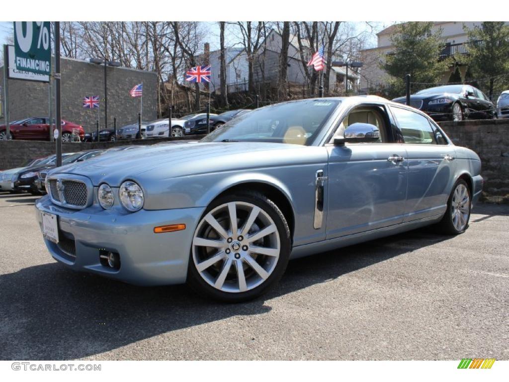2008 Frost Blue Metallic Jaguar XJ Vanden Plas 46611987