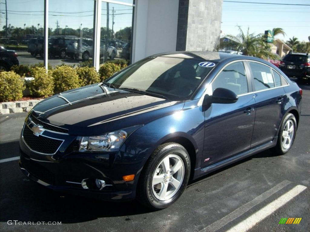 2011 imperial blue metallic chevrolet cruze lt rs 46612004 car color galleries. Black Bedroom Furniture Sets. Home Design Ideas