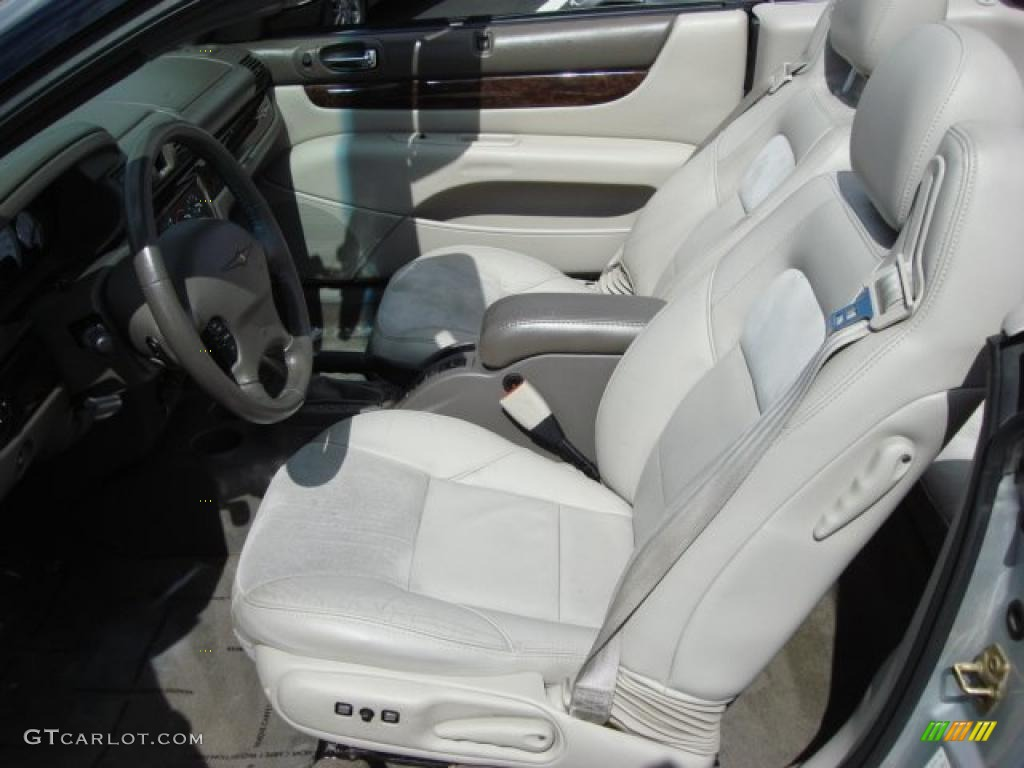 Taupe Interior 2004 Chrysler Sebring Limited Convertible Photo 46616446