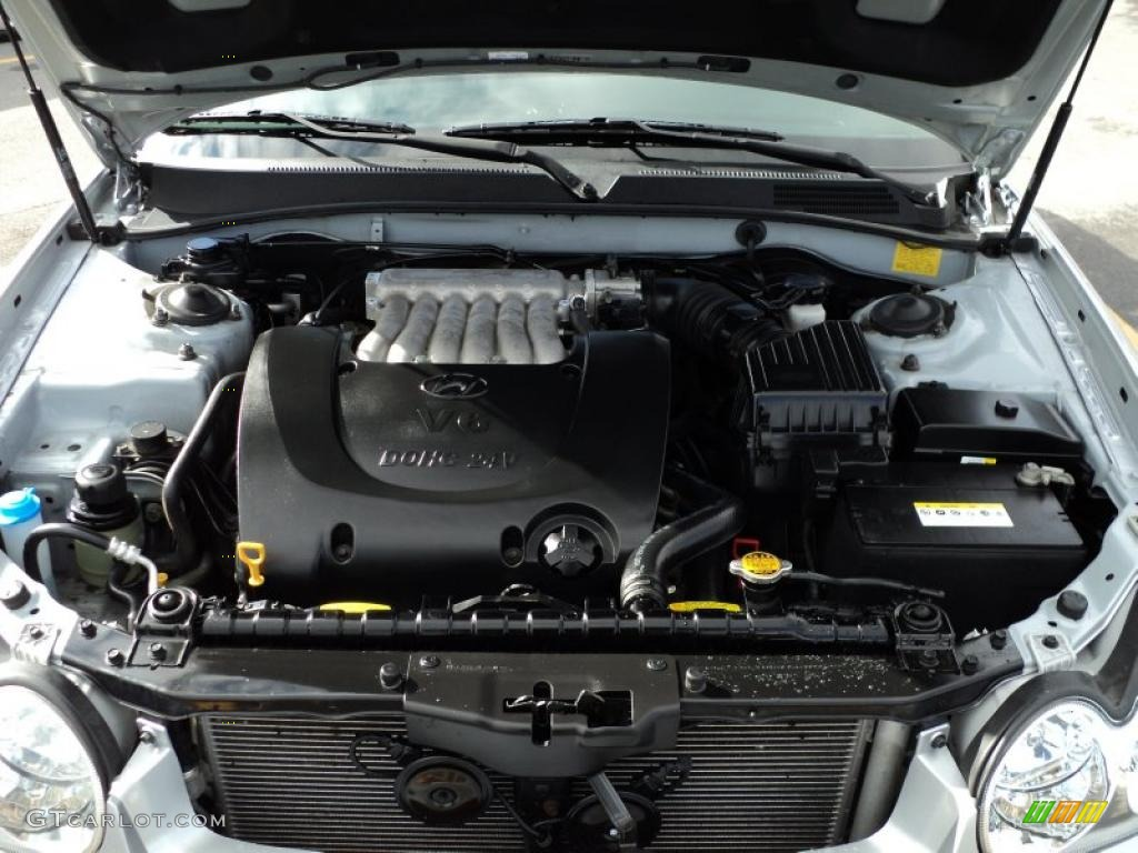 2005 Hyundai Sonata Lx V6 2 7 Liter Dohc 24 Valve V6