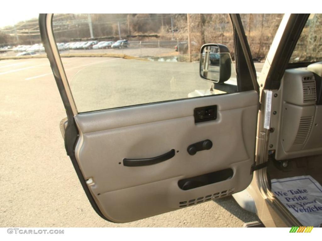 2003 Jeep Wrangler Sport 4x4 Door Panel Photos