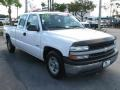 2000 Summit White Chevrolet Silverado 1500 Extended Cab  photo #1