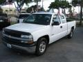2000 Summit White Chevrolet Silverado 1500 Extended Cab  photo #5