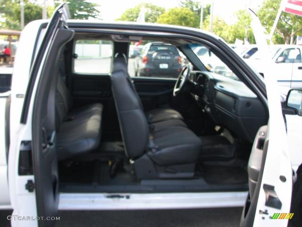 2000 Silverado 1500 Extended Cab - Summit White / Graphite photo #10