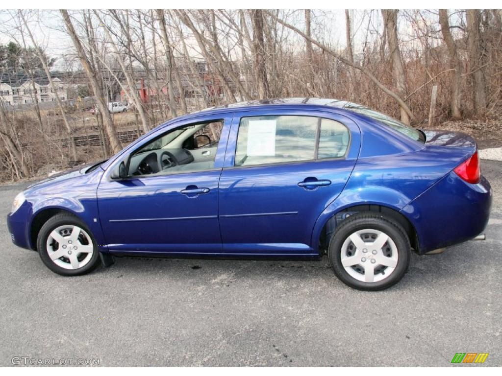 laser blue metallic 2007 chevrolet cobalt ls sedan exterior photo 46637921. Cars Review. Best American Auto & Cars Review
